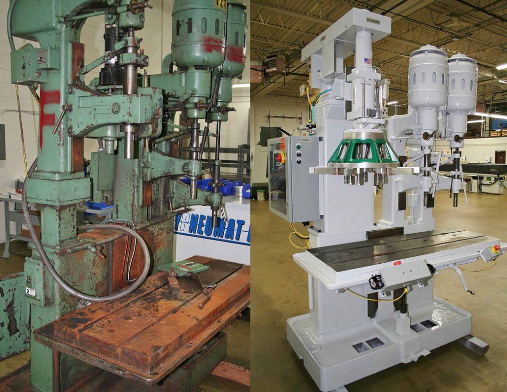 Hypneumat Machine Refurbishment Before After